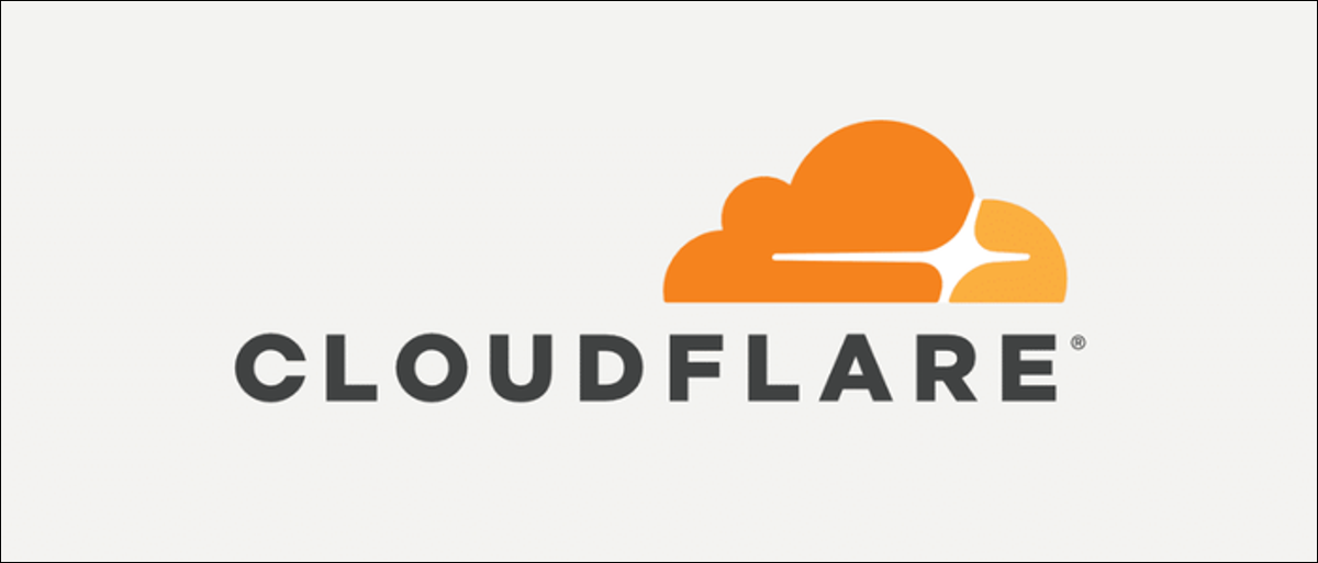CloudFlare logo.