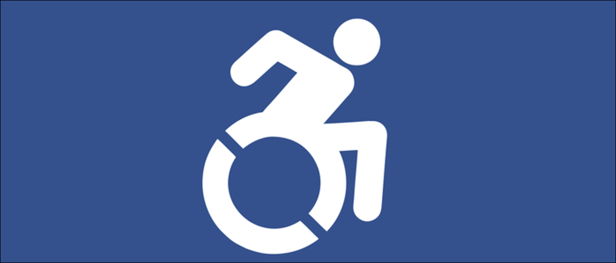 Disabled person logo.