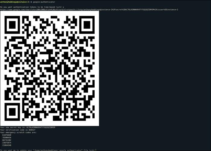 Gigantic QR code.