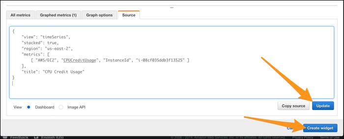 Configure your widget.