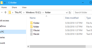 How to Monitor a Windows Folder for New Files and Take Action