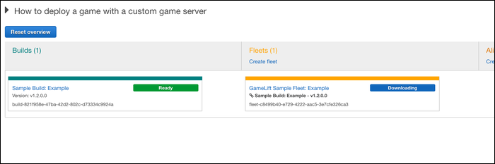 How to deploy a game with a custom game server