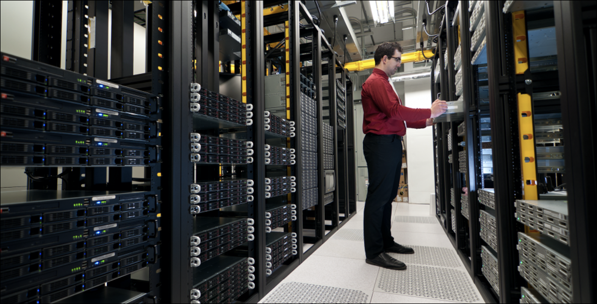 server rack install