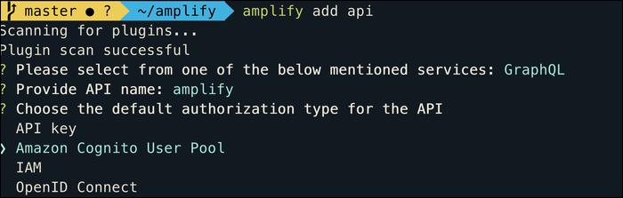 amplify auth scheme