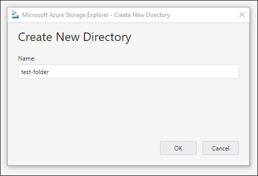 azure create new directory