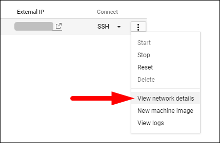 view network details