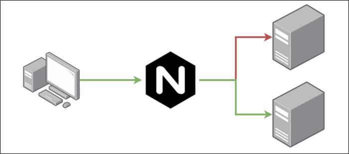 An NGINX Load Balancer.