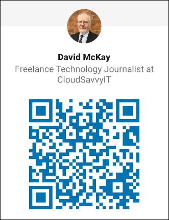 LinkedIn QR code for Dave McKay