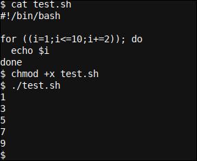 A Bash for based loop script