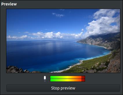 SimpleScreenRecorder Recording Preview