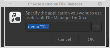 Auto setup of variable necessary for linking between file manager and opening entity