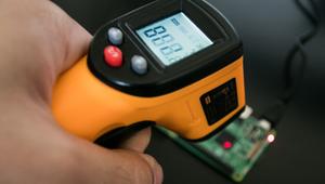Monitoring Temperature on The Raspberry Pi