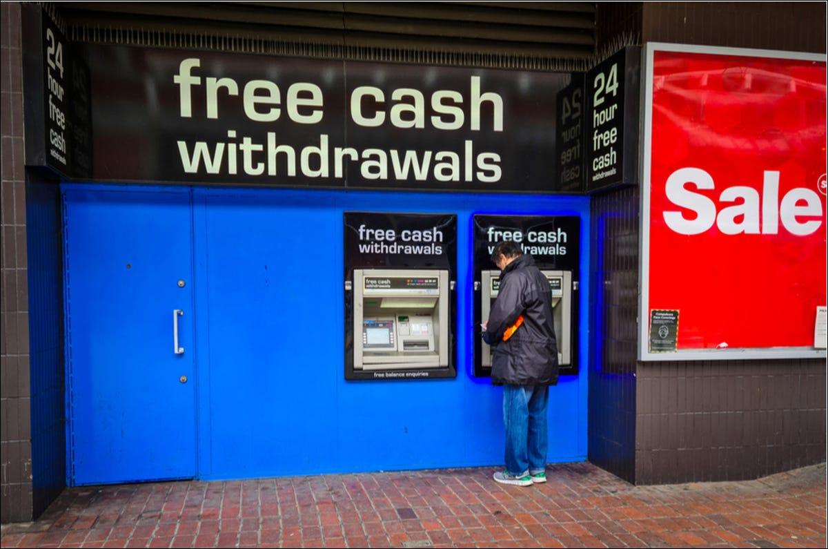 free cash atm