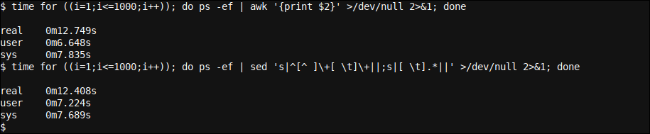 Using time to analyze the average execution time of any command, allowing one to optimize Linux script runtimes
