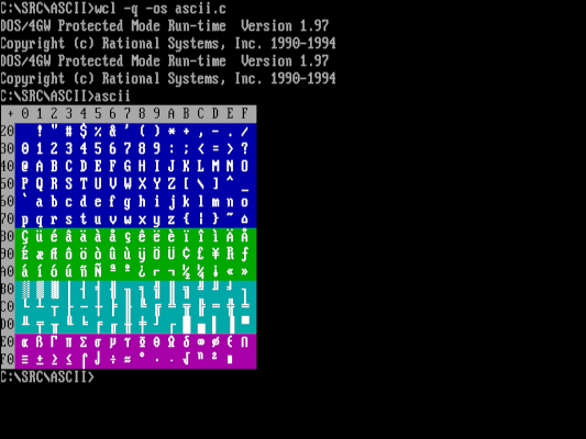 Compiling a program on FreeDOS