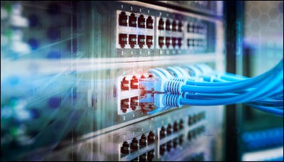 pannello switch di rete network
