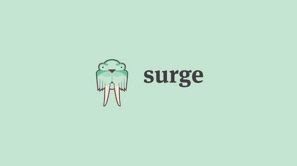 How to Deploy Static Websites For Free With Surge.sh