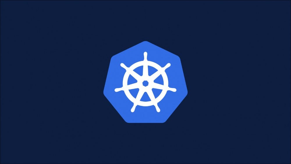 Image with the Kubernetes logo