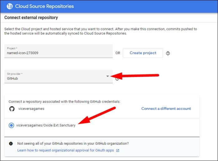 create cloud source repo