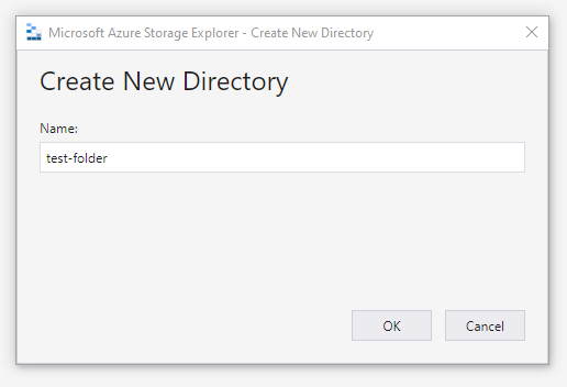 azure create new directory