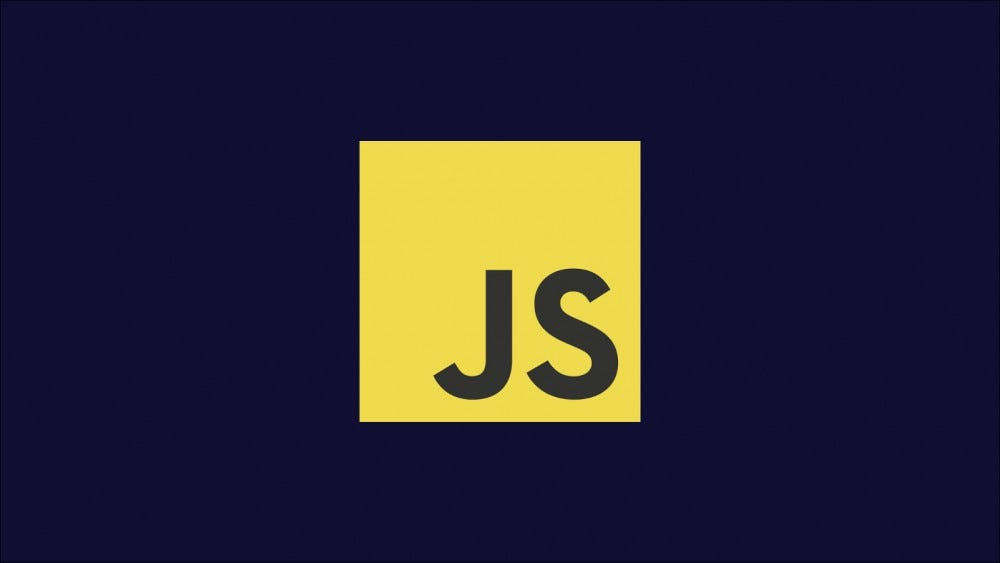 Illustration showing the JavaScript logo