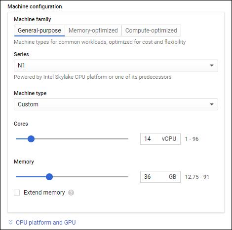Configurator for eg sizes