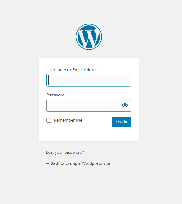 Open the correct login page now.