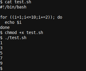 A bash for a based loop script