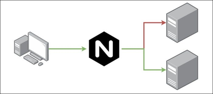 An NGINX Load Balancer.