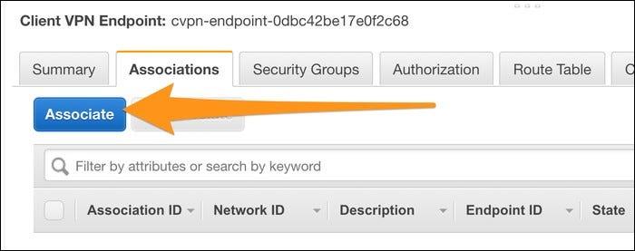 associate VPN