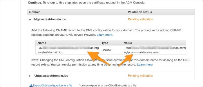 verify dns settings
