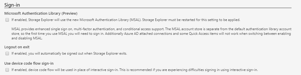 azure msal sign-in