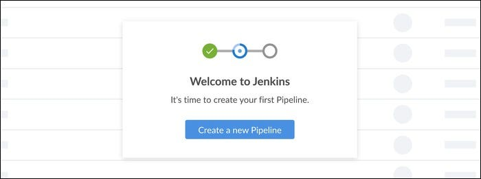 jenkins creates a new pipeline