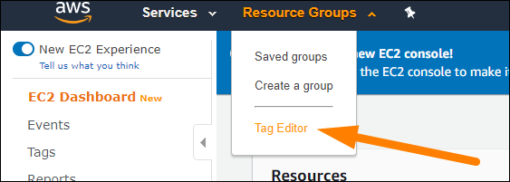 open tag editor