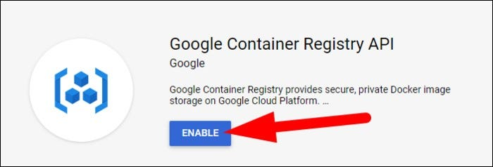 enable container registry