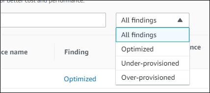 pricing filter