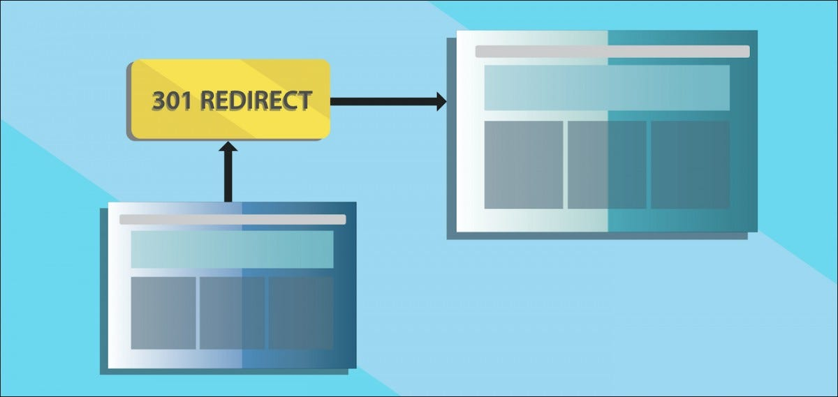 301 redirect illustration